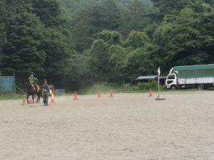 流鏑馬練習紅葉台