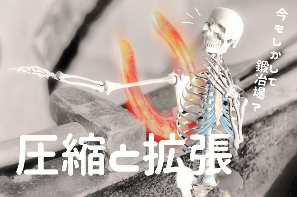 圧縮と拡張呼吸