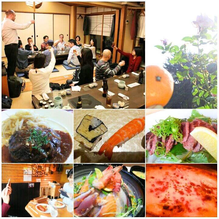 大阪で食べたもの色々、肉・魚・米