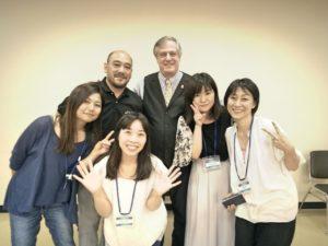 Dr.Sanet、Jay師匠とオステ仲間女子たちで