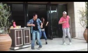 即席ダンスユニットも結成(笑)