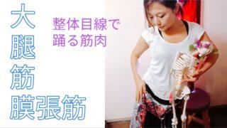 大腿筋膜張筋踊る整体
